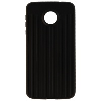 Verizon Silicone Cover Case for Moto Z Force Droid - Black Textured