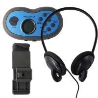 Insignia NS-R5111A - Portable Digital AM/FM Radio - Gray