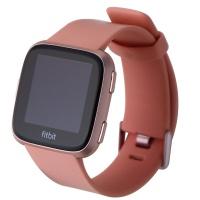 Fitbit Versa Smart Watch - Rose Gold Aluminum / Peach Band