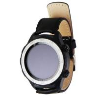Huawei Watch 2 Sport Smartwatch - Ceramic Bezel / Black Leather Band