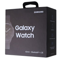 RETAIL BOX - Samsung Galaxy Watch - 42mm / Black - NO DEVICE