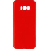 Anley Colors of Love Jelly Case for Samsung Galaxy S8+ (Plus) - Red
