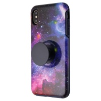 Otterbox + Pop Symmetry Series Case for Apple iPhone XS Max - Blue Nebula