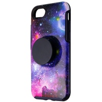 OtterBox + Pop Symmetry Series Phone Case for iPhone 7 / 8 - Blue Nebula