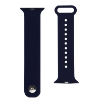 Premium Adjustable Silicone Watch Band for the 42mm Apple Watch - Dark Blue
