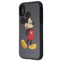 Otterbox Symmetry Series Case for Apple iPhone XS / X - Gray / Mickey Mouse