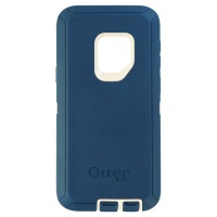 OtterBox Defender Case and Holster for Samsung Galaxy S9 - Big Sur (Blue/White)