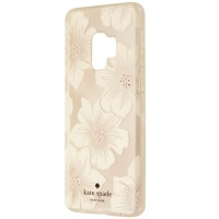 Kate Spade Hybrid Hardshell Case for Galaxy S9 - Clear/White Jewel Flower