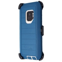 OtterBox Defender Pro Series Screenless Case for Galaxy S9 -  Big Sur Blue