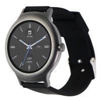 LG Watch Style (LG-W270) - Titanium Gray / Silicone Black Band