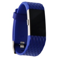 Fitbit Charge 2 Heart Rate + Fitness Wristband (US Version) - Small - Blue