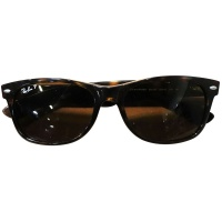 Genuine Ray-Ban Polarized Glasses - Brown (RB2132) 902/57