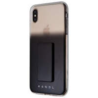 HANDL Black Ombre Case for Apple iPhone XS Max - Black Ombre / Clear / Fade