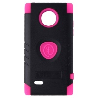 Trident Aegis Series Dual Layer Case for LG Spectrum 2 - Black/Pink