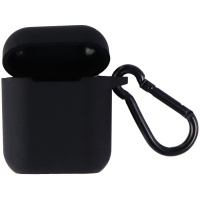 Insignia Protective Silicone Carrying Case for Apple AirPods - Black
