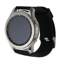 Samsung Gear S3 Classic Smartwatch (SM-R770) 46mm Silver / Black Silicone Band