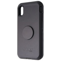 OtterBox + Pop Defender Series Phone Case for iPhone XS Max - Black