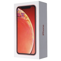 RETAIL BOX - Apple iPhone XR - 128GB / Coral - NO DEVICE