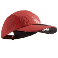 Panther Vision 4 LED (22 Lumen) Solar Powered Microfiber Light Hat - Maroon Red