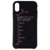My Social Canvas GRLCODEPHNCS003 Girl Code Case for iPhone XR - Black