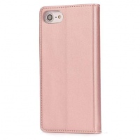 Iphox! Fashionable Cover Folio Case for Apple iPhone 7 - Rose Gold
