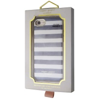 Sugar Paper Los Angeles Printed Case for Apple iPhone 8 / 7 - White/Blue Stripe