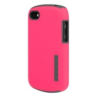 Incipio DualPro Series Dual Layer Case for BlackBerry Q10 - Pink/Gray - BB-1029