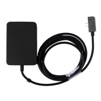 AC Adapter with Micro-USB Connector for Microsoft Surface 3 - Black (EADP-1623)
