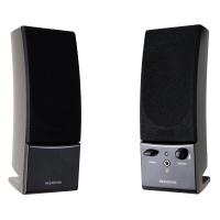 Insignia Stereo 2.0 Computer Speakers w/ Headphone Jack - Black NS-PCS40
