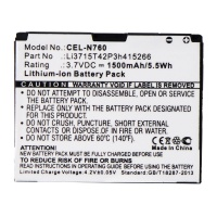 UltraLast Rechargeable Battery for Select ZTE Smartphones - CEL-N760