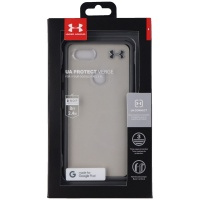 Under Armour UA Protect Verge Case for Google Pixel 3 XL - Clear/Gray