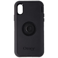 OtterBox + Pop Defender Series Screenless Phone Case for iPhone Xs / X - Black