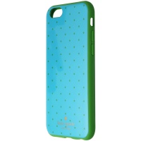 Kate Spade New York Flexible Hardshell Case for iPhone 6s/6 - Blue/Green Dots