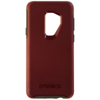 OtterBox Symmetry Case for Samsung Galaxy S9+ (Plus)- Fine Port (Dark Red/ Gray)