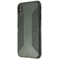 Speck Presidio Grip Series Case for Apple iPhone XS Max - Dusty Green/Black
