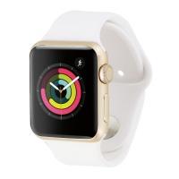 Apple Watch Series 1 (38mm) A1802 Gold Aluminum / White Sport Band