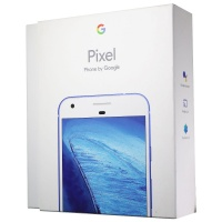 RETAIL BOX - Google Pixel - 32GB Blue - Sleeve/Tray Included - NO DEVICE