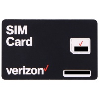 Verizon Wireless 4G LTE Micro SIM Card (BULKSIM-NFC-A)