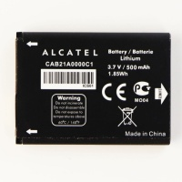 Alcatel Rechargeable Lithium 500mAh OEM Battery (CAB21A0000C1) 3.7V
