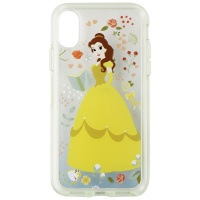 OtterBox Symmetry Power of Princess Disney Case for iPhone X/Xs - Clear / Belle