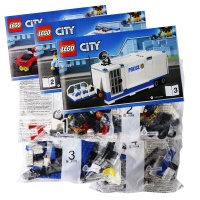 LEGO City Police Mobile Command Center Truck Building Toy (374 Pieces)