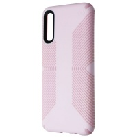 Speck Presidio Grip Hybrid Case for Samsung Galaxy A50 - Ballet Pink/Ribbon Pink