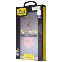OtterBox Symmetry Fan Brander Series Case for Google Pixel 2 - Black Clemson