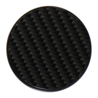PopSockets Replacement PopGrip Swappable Grip Top - Carbon Fiber (Top Only)
