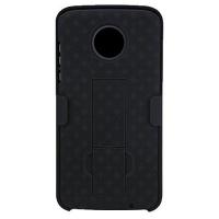 Verizon OEM Shell/Holster Combo with Kickstand for Motorola Moto Z2 Play - Black