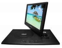 Sylvania 13.3-Inch Swivel Screen Portable DVD Player w/ USB -  Black - SDVD1332