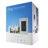 Ring 1080p Video Doorbell Elite with Infrared Night Vision and Motion Sensor PoE