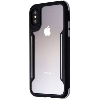 Verizon Slim Guard Series Case for Apple iPhone XS and X - Clear/Black/Gray