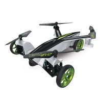 Protocol TerraCopter EVO - R/C Car and Drone with Camera - White - 6182-4ND-AP
