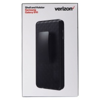 Verizon Shell Case and Holster for Samsung Galaxy S10 Smartphones - Black